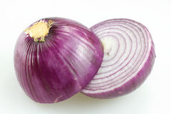 Cut the onion Royalty Free Stock Image