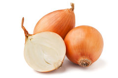 Cut onion Royalty Free Stock Photos