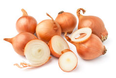 Cut onion Stock Photos