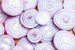 Cut onion Royalty Free Stock Image