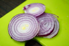 Cut onion Royalty Free Stock Image