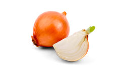 Cut onion Royalty Free Stock Photography