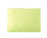 Cut open paper envelope isolated Royalty Free Stock Photo