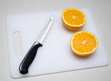 Cut orange Royalty Free Stock Photo