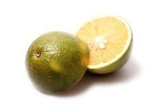 Cut orange Stock Image