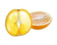 The cut orange Stock Photography