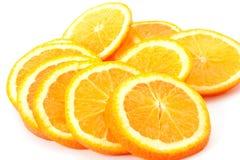 Cut oranges Royalty Free Stock Photo