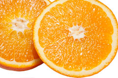 Cut oranges Royalty Free Stock Images