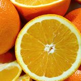 Cut oranges Royalty Free Stock Photo