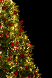 Cut out christmas tree Royalty Free Stock Images