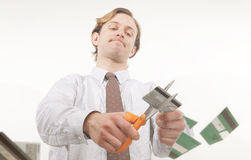 Cut out debt Stock Images