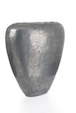 Cut-out of Flat Gray Vase Royalty Free Stock Photo