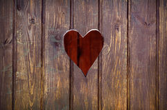 Cut out heart shape Royalty Free Stock Image