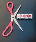 Cut out junk Royalty Free Stock Image