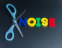 Cut out noise  Royalty Free Stock Image