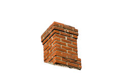 Free Cut Out Red Old Chimney Royalty Free Stock Photos - 70008898