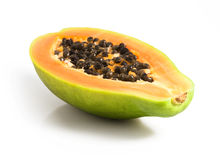 Cut papaya Stock Photography
