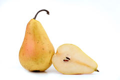 Cut pear Stock Photography