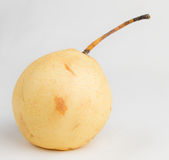 Cut pear Royalty Free Stock Image