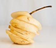 Cut pear Stock Photos