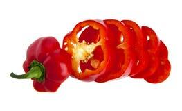 Cut pepper Stock Photos