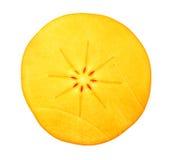Cut persimmon Stock Photos