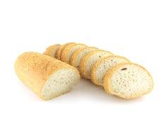 Cut piece of bread Stock Image