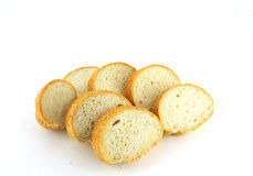 Cut piece of bread Royalty Free Stock Photo