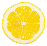 Cut a piece of lemon Royalty Free Stock Photography