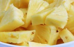 Cut pineapple Stock Photos