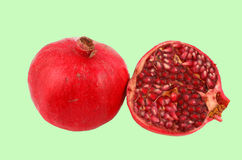 Cut pomegranate Stock Photo