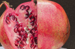 Cut pomegranate Royalty Free Stock Photography