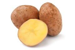 Cut potato Stock Photo