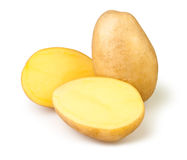 Cut potato Royalty Free Stock Photos