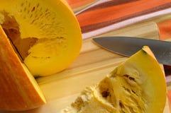Cut pumpkin Stock Photos