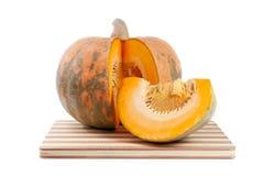 Cut the pumpkin Stock Images