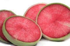 Cut Radish stock image