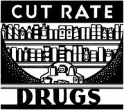 Cut Rate Drugs Stock Images