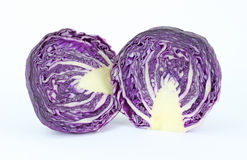 Cut red cabbage Royalty Free Stock Photography