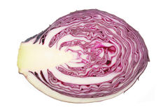 Cut red cabbage Stock Image