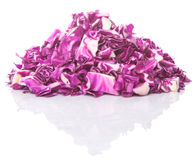Cut Red Cabbage I Royalty Free Stock Photography