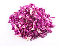 Cut Red Cabbage II Stock Photography