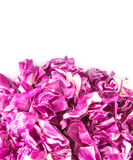 Cut Red Cabbage V Royalty Free Stock Images