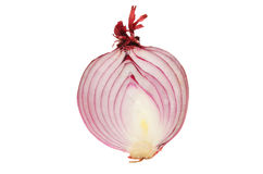 Cut red onion Stock Image