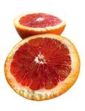 Cut red orange Royalty Free Stock Photos