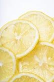 Cut ripe lemon Stock Photos