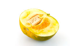 Cut ripe melons Stock Images