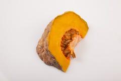Cut ripe orange pumpkin Royalty Free Stock Images