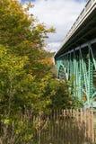 Cut River Bridge Stock Photo