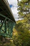 Cut River Bridge Royalty Free Stock Image